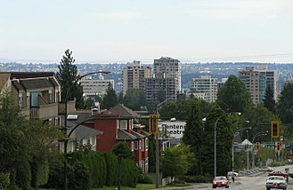 North Vancouver (city) - City of North Vancouver as seen from Upper Lonsdale