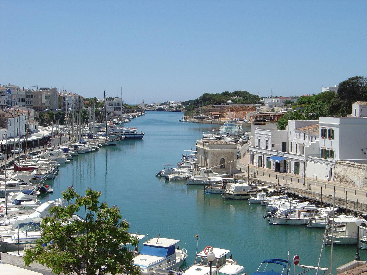Puerto de Ciudadela, Menorca