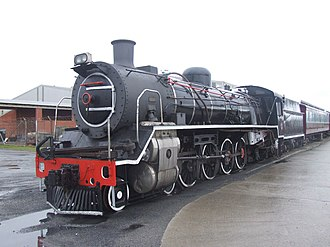 South African Class 19C 4-8-2 - No. 2439, Outeniqua Transport Museum, 22 April 2006