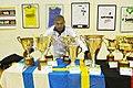 Claudio Piazza con i trofei vinti con la Santàl.jpg