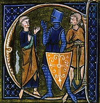 Cleric, knight and Peasant; an example of feudal societies
