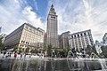 Cleveland Public Square Fountain (27953219422).jpg
