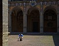 Cloister of the Archiginnasio of Bologna. Italy.jpg