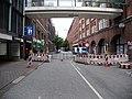 Closed road during the G20 summit in Hamburg.jpg