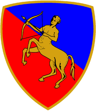 Centauro Armored Brigade - Coat of Arms of the Armored Brigade Centauro