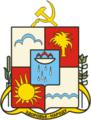 Coat of Arms of Sochi (Krasnodar kray) (1967).png