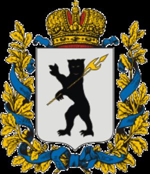 Yaroslavl Governorate - Coat of arms of Yaroslavl Governorate