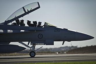 No. 1 Squadron RAAF - F/A-18F Super Hornet of No. 1 Squadron, 2013
