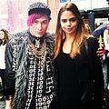 Codystarrr with top model Sam Harris also one of the ambassadors of David Jones 2013-12-30 21-54.jpg