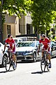 Cofidis riders before the start of Stage 1 in Sacramento (34610161300).jpg