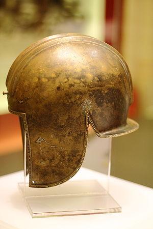 Illyrian type helmet - Image: Coif greco iliric 27790 IMG 1574