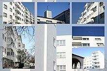 Bauhaus Siedlung in Köln Buchforst