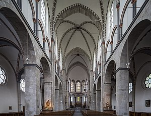 Basilica of St. Cunibert, Cologne - Interior