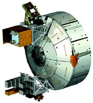 SOLAR (ISS) - The Solar Monitoring Observatory is externally mounted on the Columbus Laboratory
