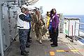 Commandant of the Royal Marines visits 24th MEU, Iwo Jima ARG 120515-M-BL645-0111.jpg