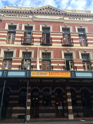 State Register of Heritage Places - Image: Commercial Hotel Fremantle