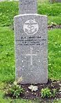 Commonwealth War Graves gravestone of D. C. Morton in Tromsø.jpg