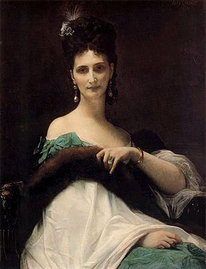Alexandre Saint-Yves d'Alveydre - Image: Comtesse de Keller (Alexandre Cabanel)