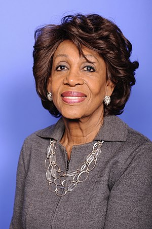 Maxine Waters - Image: Congresswoman Waters official photo