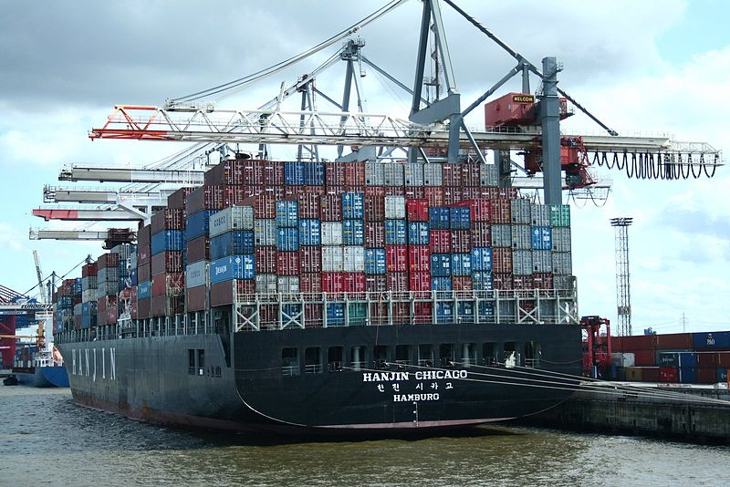 File:Containerschiff Hanjin Chicago.jpg
