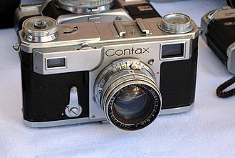 Rangefinder camera - Contax II