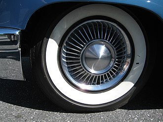 Continental Mark II - Detail of wheel cover (assembled by hand)