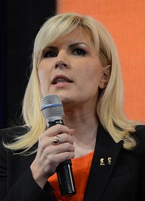 Elena Udrea - Udrea at the 2013 PD-L convention