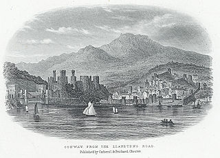 Conway, from the Llandudno road