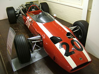Ecurie Bonnier - The Anglo-Suisse Racing Team Cooper-Maserati T81, used from 1966 to 1968.