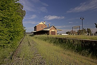 Cootamundra West railway station - Image: Cootamundra West Railway Station (03)