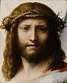Correggio, testa di cristo getty.jpg