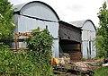 Corrugated barns near Burton Mill - geograph.org.uk - 447531.jpg