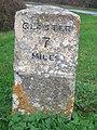 Corse Milestone - geograph.org.uk - 611005.jpg