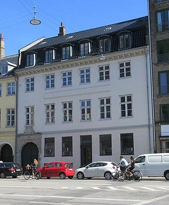Cort Adeler - Cort Adeler House in Christianshavn, Copenhagen