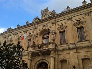 Corte Capitanale - Façade of the Corte Capitanale