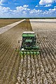Cotton harvester in Batesville, Texas field - front view portrait.jpg