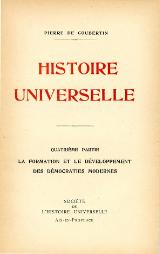 Coubertin - Histoire universelle, Tome IV, 1926.djvu