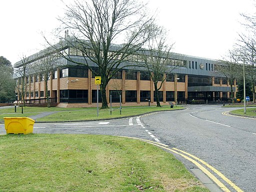 Council Offices, Penllergare wood, Swansea - geograph.org.uk - 1764576