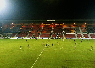 County Ground (Swindon) - Arkells stand