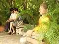 Couple at Royal Palace - Phnom Penh - Cambodia.JPG
