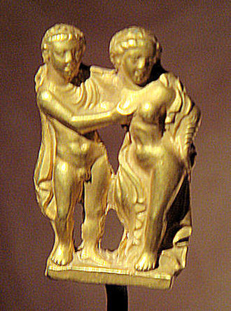 Legacy of the Indo-Greeks - Hellenistic couple from ancient Taxila (IV).