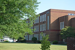 Covington High School (Covington, Virginia) - Image: Covington HS, 530 S. Lexington