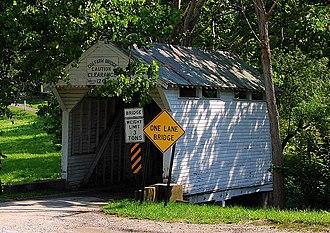 Morgan Township, Greene County, Pennsylvania - Cox Farm Covered Bridge