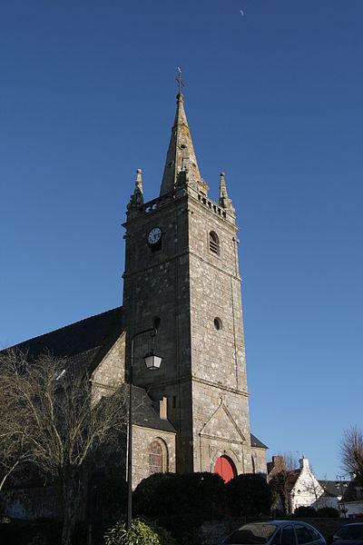 Église Saint-Thuriau de Crach.