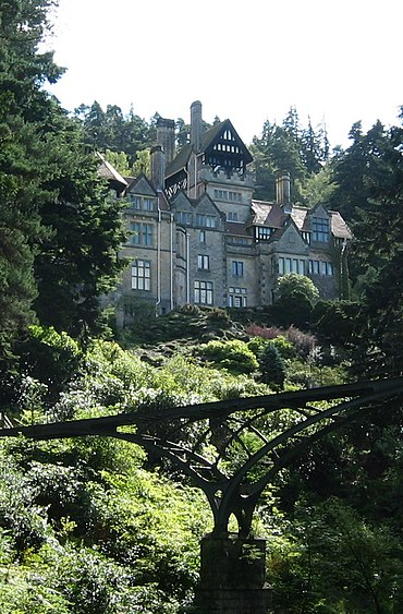 "Cragside, designed by Norman Shaw in what he called a ""Free Tudor"" style Cragside2.JPG"