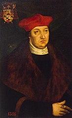 Portrait of Cardinal Albert of Brandenburg