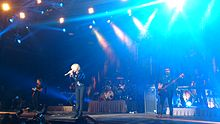 Cranberries Live In BCN 10 4 2012.JPG