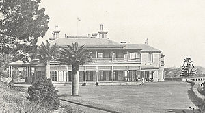 Government House, Sydney - Image: Cranbook 1917
