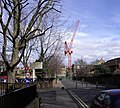 Crane in Grove Lane - geograph.org.uk - 1193082.jpg