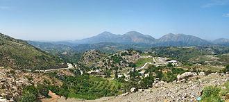 Anogeia - Landscape around Anogeia